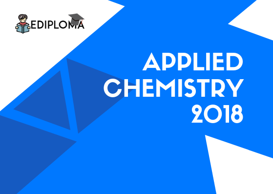 BTE Question Paper of Applied Chemistry 2018(Electrical, Chemical, Polymer)