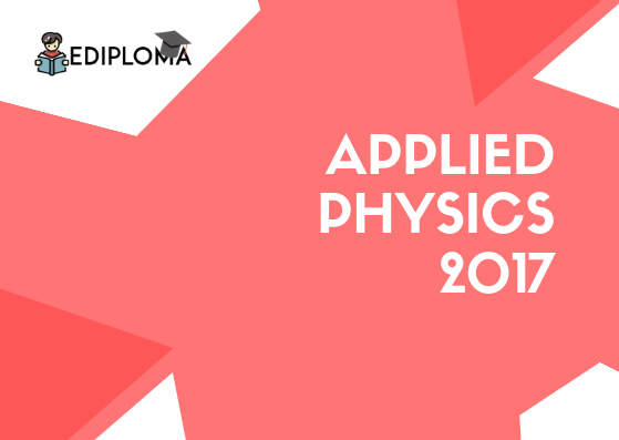 BTE Question Paper of Applied Physics 2017 (Chemical, Polymer)