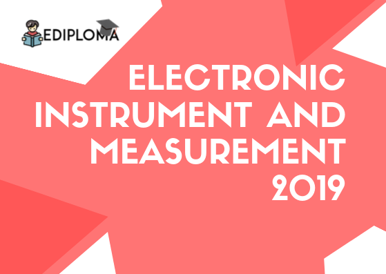 BTE Question Paper of Electronic Instrument and Measurement 2019