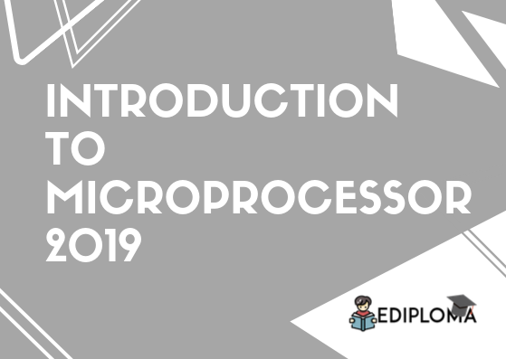 BTE Question Paper of Introduction to Microprocessors 2019
