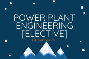 BTE QP of Power Plant Engineering [Elective] Mechanical 2019